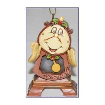 Cogsworth hanging ornament  Figurines Disney Collection -A21429