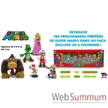 Nintendo - pack de six figurines nintendo wave 3 AbysseCorp -MFGNIN010