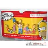 simpsons coffret 5 personnages abyssecorp mfgtpf005