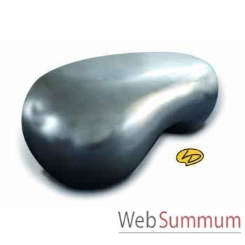 Table basse b.a-ba chrome   Leblon-Delienne -BABTB043CR
