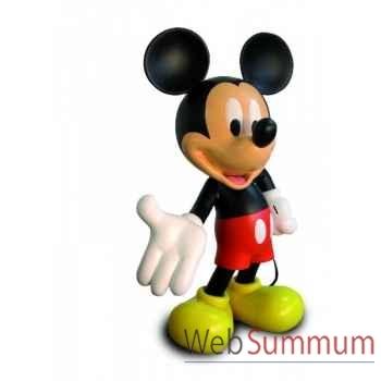 Figurine mickey echelle 1 monochrome aluminium  Leblon-Delienne -DISST14501AL