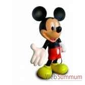 figurine mickey echelle 1 monochrome bleu leblon delienne disst14501bl