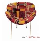 fauteuimolly fixe base bois patch kilim szalay szalay14