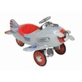 avion a pedales silver pursuit airflow collectibles 2001cs