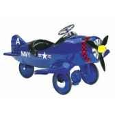 avion a pedales corsair airflow collectibles 8001ca