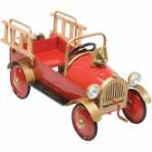 voiture a pedales fire engine airflow collectibles af103