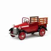 voiture a pedales deep burgundy truck airflow collectibles af111