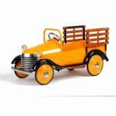voiture a pedales burnt orange truck airflow collectibles af110
