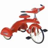 tricycle a pedales jr sky king rouge airflow collectibles tsk005