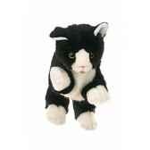 marionnette chaton noir et blanc living puppets cm w045