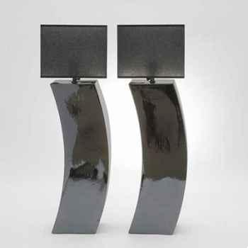 Lampe Parenthèse nickel PM Design FdC - 6214argent