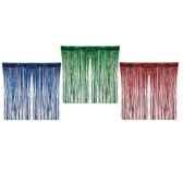 lanterne frange decoratives en plastique 240 cm x 95 cm couleurs assorties diffi papstar 19468