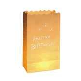 luminaria decolight grand format 26 cm x 15 cm x 9 cm joyeux anniversaire in papstar 81361