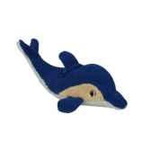 peluche 30 cm x 16 cm bleu dolphin aid papstar 10197