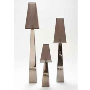 Lampe Saba grand modèle Design FdC - 6182argent