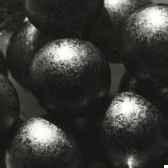 deco balles en verre o 25 mm anthracite papstar 10364
