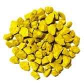 deco pierre jaune 5 8 mm 730 gr papstar 10334