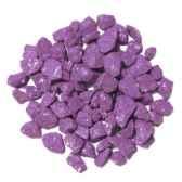 deco pierre violet 5 8 mm 730 gr papstar 10480