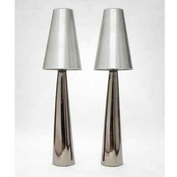 Lampe Safi argent GM Design FdC - 6136argent