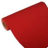 chemin de table royacollection 24 m x 40 cm rouge papstar 81883