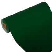 chemin de table royacollection 24 m x 40 cm vert fonce papstar 81885