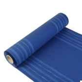 chemin de table royacollection 24 m x 40 cm blue curen rouleau papstar 11446
