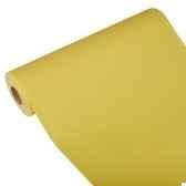 chemin de table royacollection 20 m x 40 cm jaune en rouleau papstar 81507