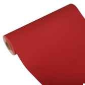 chemin de table royacollection 20 m x 40 cm rouge en rouleau papstar 81514