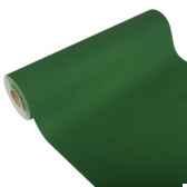 chemin de table royacollection 20 m x 40 cm vert fonce en rouleau papstar 81512