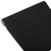 chemin de table royacollection 3 m x 40 cm noir en rouleau papstar 81409