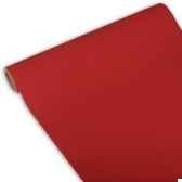 chemin de table royacollection 3 m x 40 cm rouge en rouleau papstar 81403