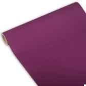 chemin de table royacollection 3 m x 40 cm violet en rouleau papstar 81617