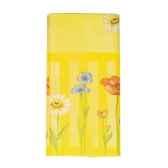 nappe aspect textile airlaid 120 cm x 180 cm serie sur les fleurs laque papstar 16188