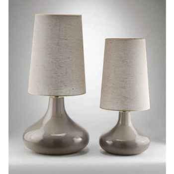 Lampe Stone grand modèle Design FdC - 6180argent