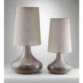 lampe stone petit modele design fdc 6179argent