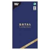 nappe non tisse tissue royacollection 120 cm x 180 cm bleu fonce papstar 81819