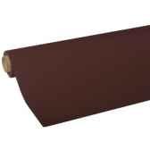 nappe non tisse tissue royacollection 5 m x 118 m marron papstar 82032