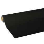 nappe non tisse tissue royacollection 5 m x 118 m noir papstar 82030