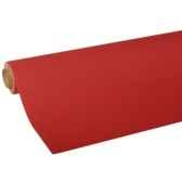 nappe non tisse tissue royacollection 5 m x 118 m rouge papstar 82034