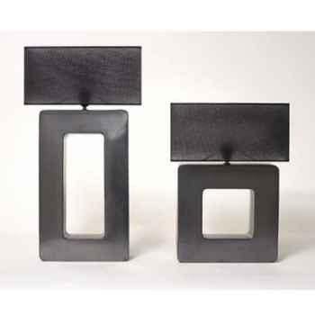 Lampe Sunset Rectangle Design FdC - 6275argent