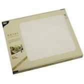 sets de table tissue royacollection 30 cm x 40 cm blanc papstar 81894