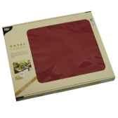 sets de table tissue royacollection 30 cm x 40 cm bordeaux papstar 81898