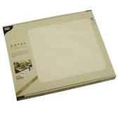 sets de table tissue royacollection 30 cm x 40 cm champagne papstar 81895