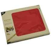 sets de table tissue royacollection 30 cm x 40 cm rouge papstar 81897