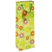 sacs en papier glacesbouteille 36 cm x 13 cm x 9 cm flower papstar 14077