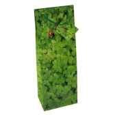 sacs en papier glacesbouteille 36 cm x 13 cm x 9 cm flower papstar 14032