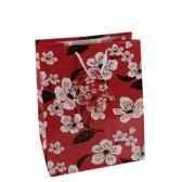 sacs en papier glaces moyens 23 cm x 18 cm x 10 cm flower papstar 16408