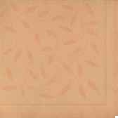 serviettes royacollection pliage 1 4 40 cm x 40 cm abricot mediterran papstar 11653