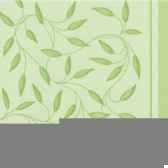 serviettes royacollection pliage 1 4 40 cm x 40 cm vert olive new mediterra papstar 11654