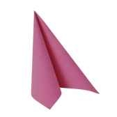 serviettes royacollection pliage 1 4 40 cm x 40 cm fuchsia papstar 81747